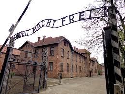 Entrada al campo de Auschwitz