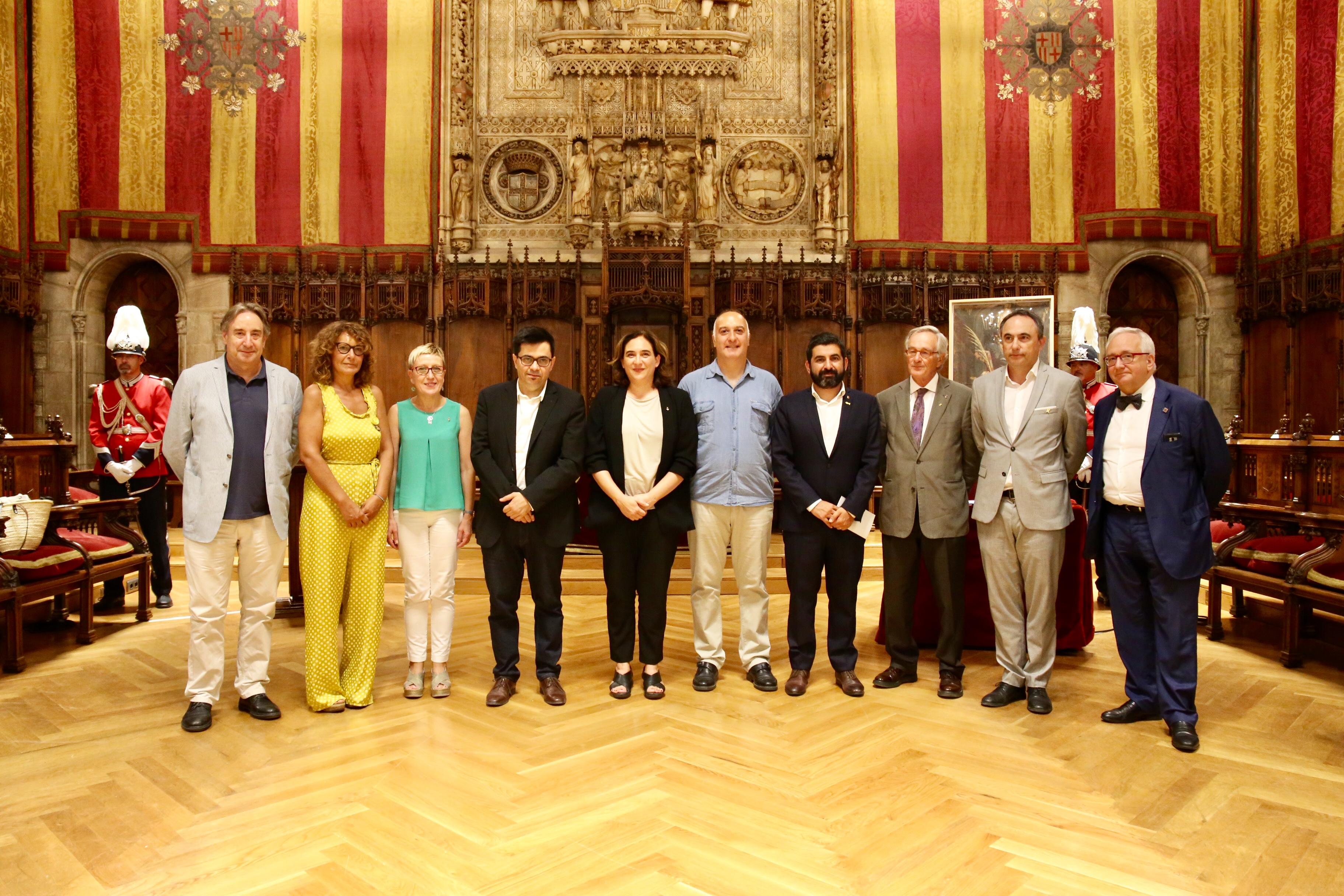 L'historiador Martín Rodrigo y Alharilla repassa el passat colonial de Barcelona en la conferència amb motiu de la celebració de l'Onze de Setembre