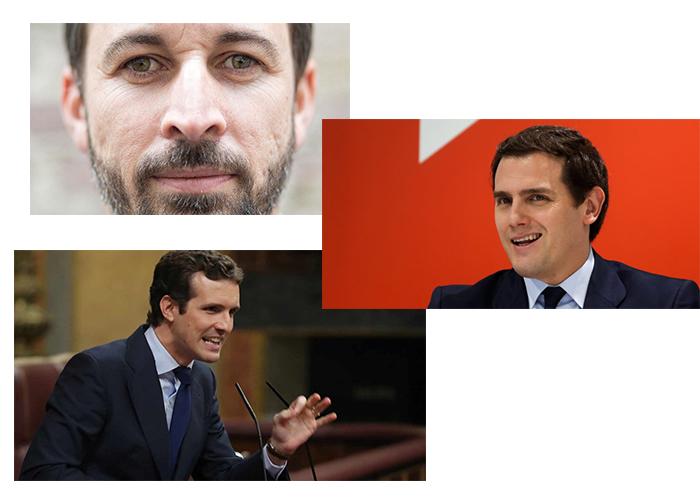 PP-Cudadanos-Vox