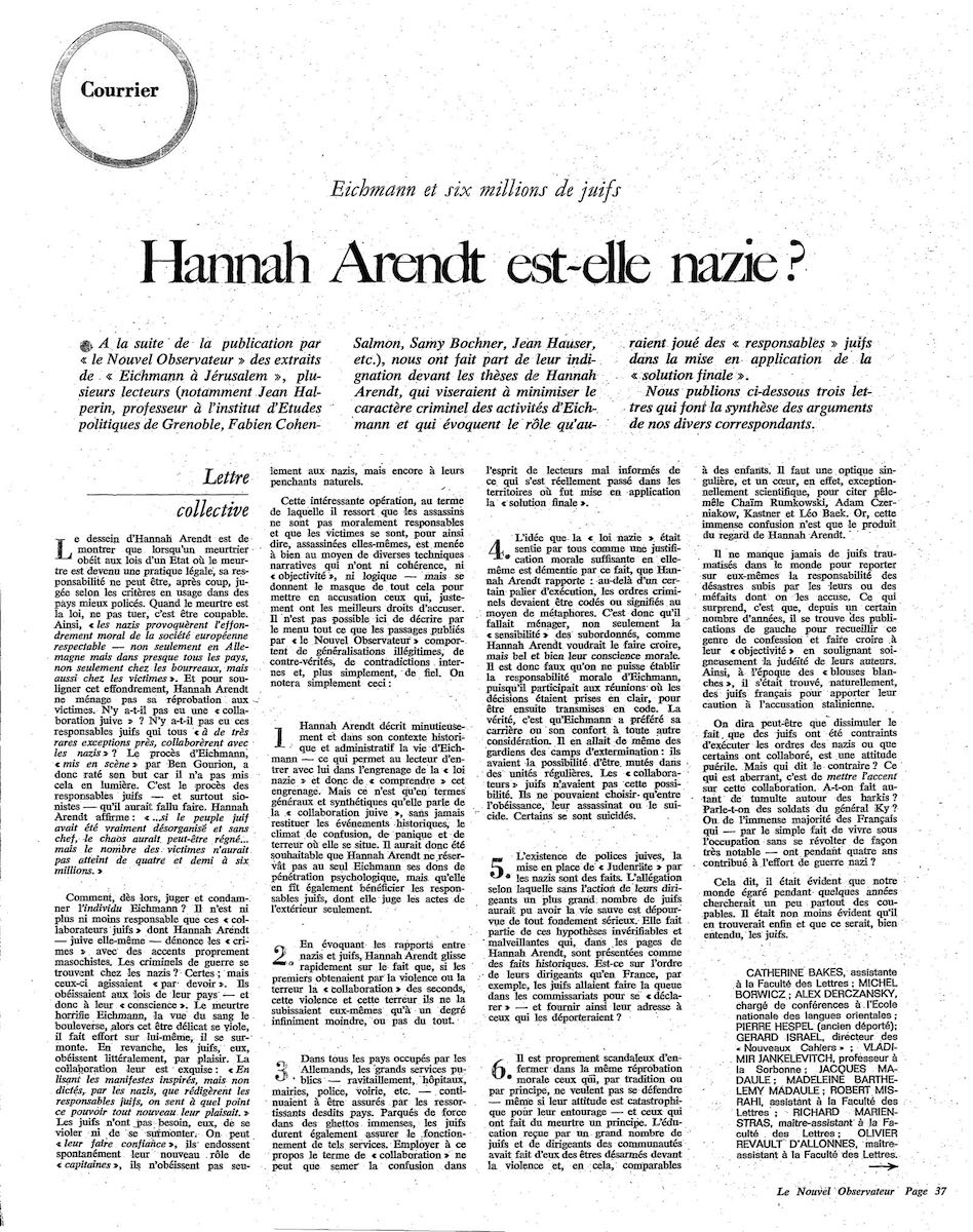 pagina courrier