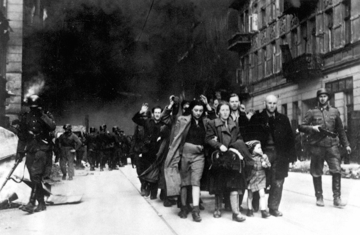 Warsaw Ghetto Uprising.
