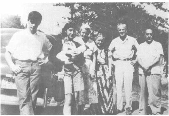 Familia Sender en 1951, foto Erin Healy