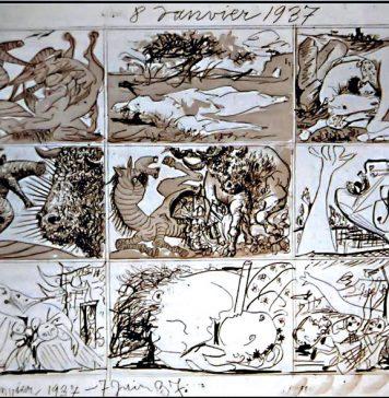 Picasso sueño y mentira de Franco anverso
