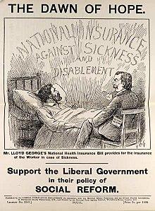 Freeden Panfleto del Partido Liberal británico 1911