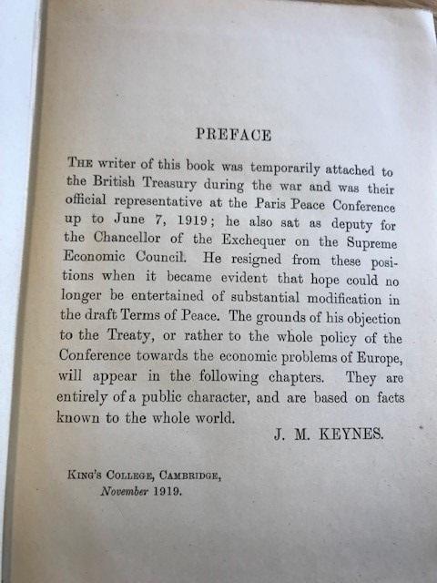 keynes preface