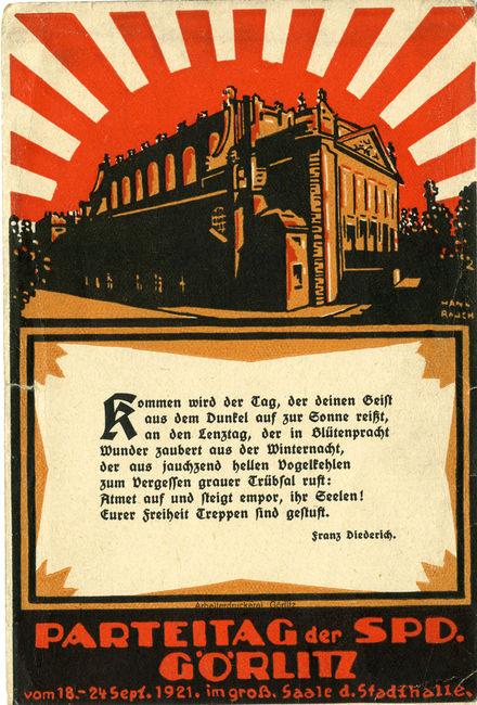 SPD Parteitag 1921