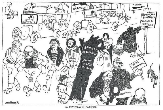 El Be Negre 17-01-33 Cataluña para los murcianos