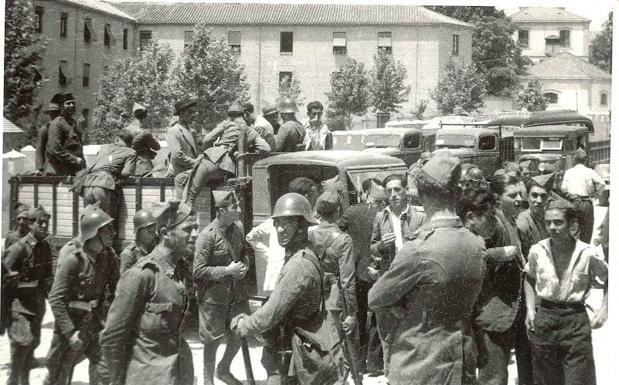 Fuerzas sublevadas en Granada TORRES MOLINA - ARCHIVO DE IDEAL