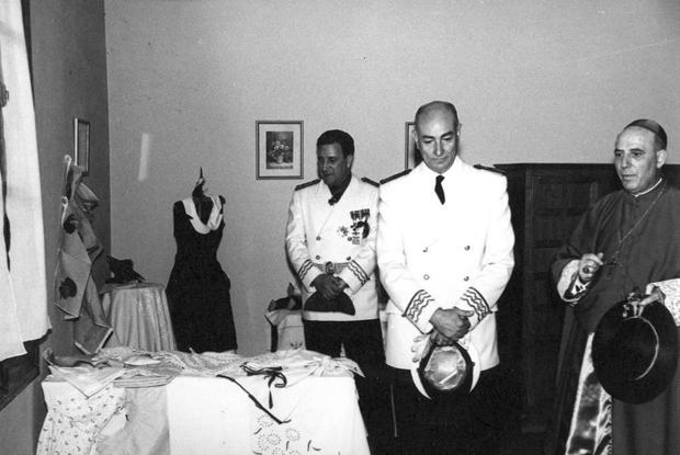 Navarro Rubio en Burbághuena 1957 Documentos y Archivos de Aragón
