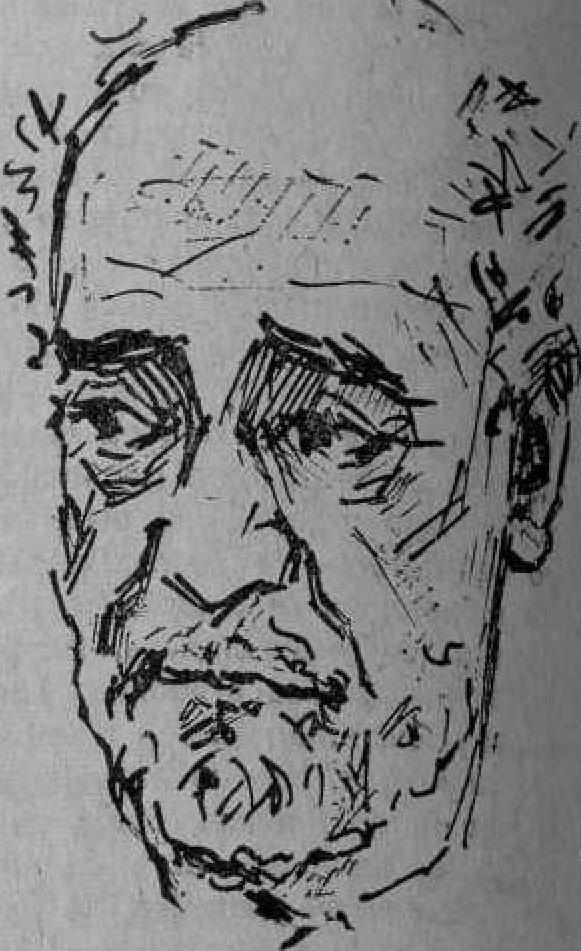 Caricatura de Sender en Andalan