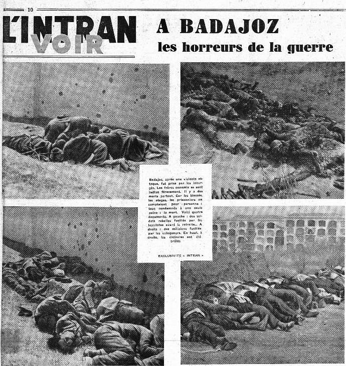 Imágenes del documental rodado por René Brut el 17 de agosto de 1936 y publicadas en L'Intransigéant el 29 de agosto de 1936