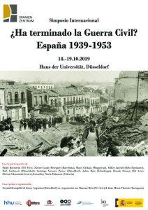 Congreso ¿Ha terminado la Guerra Civil? España 1939-1953 @ Haus der Universität