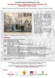 II Jornada sobre historiografia local @ Aula Magna del L'Institut d'Estudis llerdencs