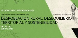 III Congreso Internacional de Historia Agraria SEHA-Rural RePort @ Formato Virtual
