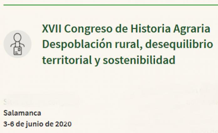 Congreso Historia Agraria 2020